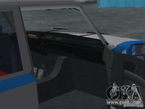 VAZ 2101 Sailor for GTA San Andreas inner view