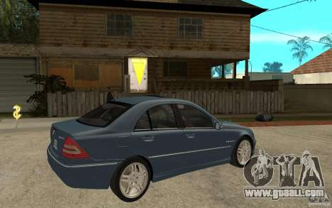 Mercedes-Benz C32 AMG 2003 for GTA San Andreas right view