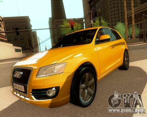Audi Q5 for GTA San Andreas back view
