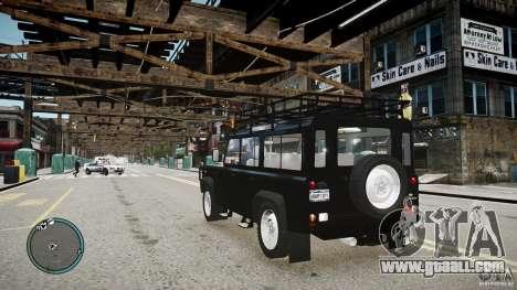 Land Rover Defender for GTA 4 inner view