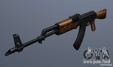 AKM - the more accurate version for GTA San Andreas