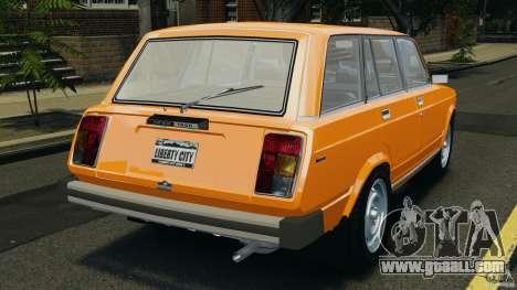 Vaz-21043 v1.0 for GTA 4 back left view