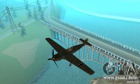 Bf-109 for GTA San Andreas