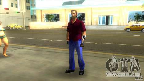 Pak skins for GTA Vice City