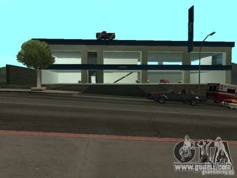 Auto Show Ford for GTA San Andreas forth screenshot
