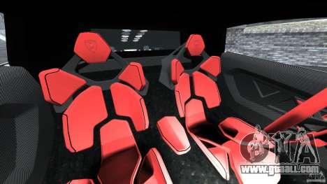 Lamborghini Sesto Elemento 2011 Police v1.0 ELS for GTA 4 inner view
