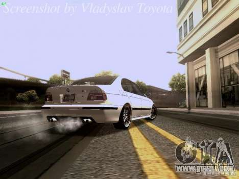 BMW E39 M5 2004 for GTA San Andreas right view