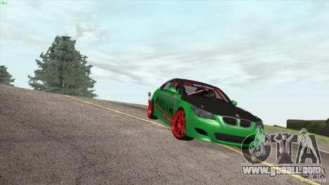 BMW M5 E60 Darius Balys for GTA San Andreas side view