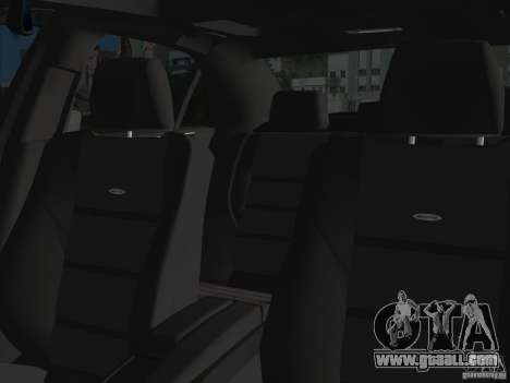Mercedes-Benz E63 AMG for GTA Vice City upper view