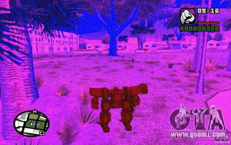 Exoskeleton for GTA San Andreas sixth screenshot