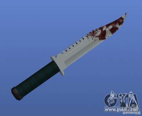 Bloody Knife V1.1 for GTA 4