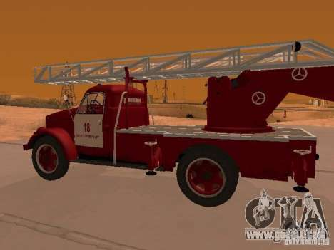 GAZ-51 ALG-17 for GTA San Andreas right view