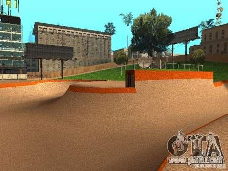 New SkatePark v2 for GTA San Andreas sixth screenshot