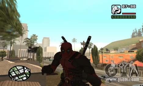 Dead Pool for GTA San Andreas fifth screenshot
