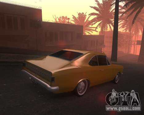 Chevrolet Opala Gran Luxo for GTA San Andreas left view