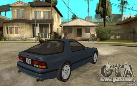 Mazda RX7 FC3S Stock for GTA San Andreas right view