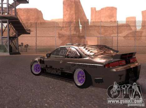 Nissan Silvia S14 Volklinger for GTA San Andreas right view