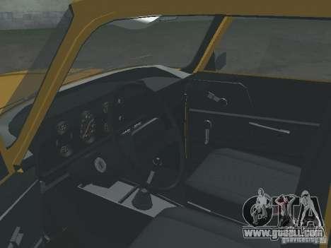 AZLK 2140 1981 for GTA San Andreas back view