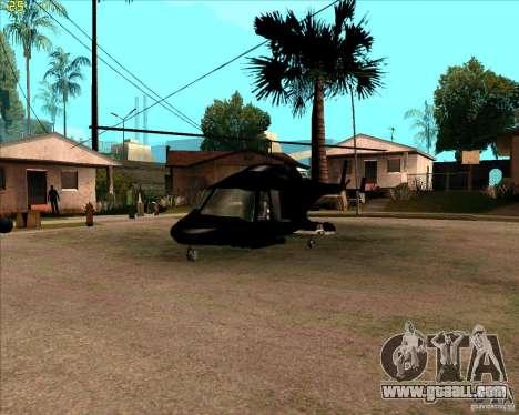 Airwolf for GTA San Andreas