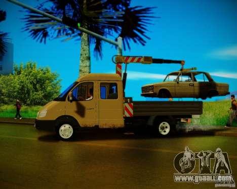 Gazelle 33023 Manipulator for GTA San Andreas left view