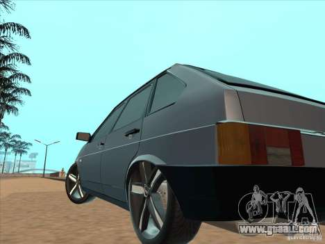 VAZ 21093i Light Tuning for GTA San Andreas back view