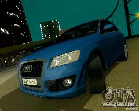 Audi Q5 for GTA San Andreas interior