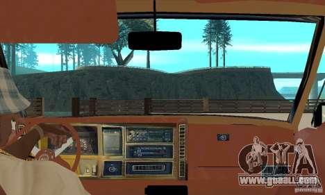Jeep Grand Cherokee 1986 for GTA San Andreas back view