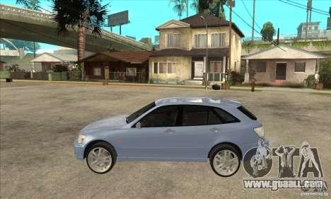 Toyota Alteza Wagon for GTA San Andreas left view