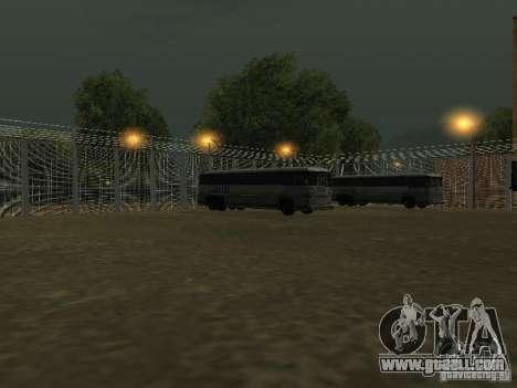 Bus Park v1.1 for GTA San Andreas fifth screenshot