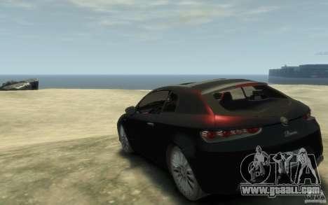 Alfa Romeo Brera for GTA 4 back left view
