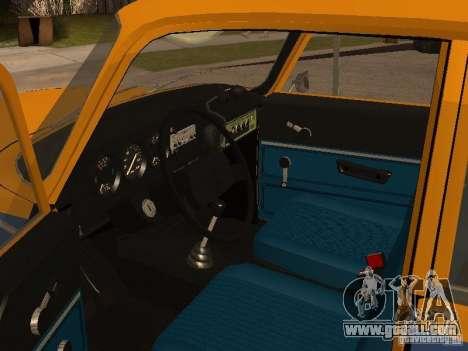 AZLK 2140 Militia early version for GTA San Andreas back view