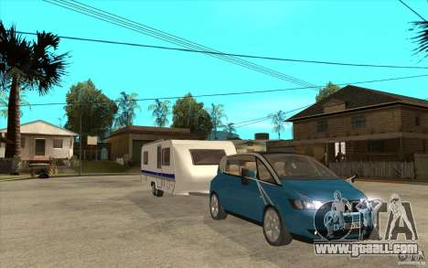 Trailer for the Renault Avantime for GTA San Andreas back view