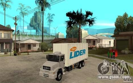 Camiun Hiper Lider for GTA San Andreas
