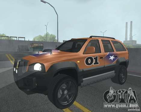 SUV from NFS for GTA San Andreas side view