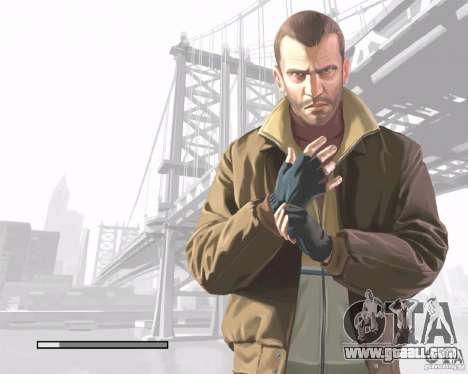 Loading screens in the style of GTA IV for GTA San Andreas