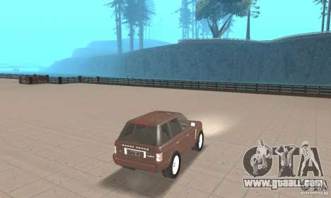 Range Rover Vogue 2004 for GTA San Andreas left view