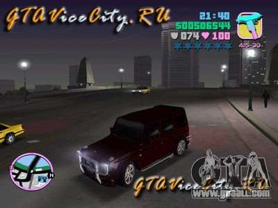 Mercedes-Benz G500 Brabus for GTA Vice City