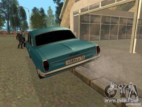Volga GAZ 24-10 for GTA San Andreas back left view