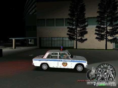 VAZ 2101 Police for GTA Vice City inner view