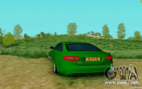 Audi RS6 OTIS for GTA San Andreas back left view