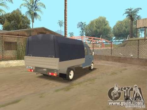 Gaz Gazelle 33023 Farmer for GTA San Andreas right view