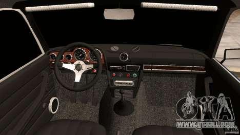 VAZ 2106 Tuning v2.0 for GTA Vice City inner view