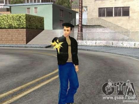 Skins Gopnik for GTA San Andreas