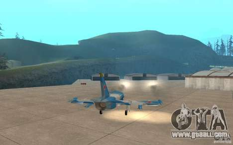 L-39 Albatross for GTA San Andreas upper view