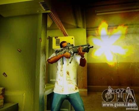 Tavor Tar-21 Digital for GTA San Andreas forth screenshot