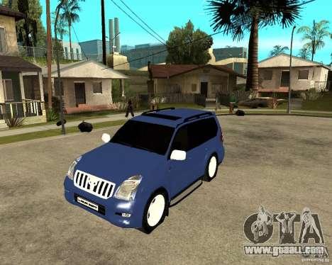 2009 toyota land cruiser prado for GTA San Andreas