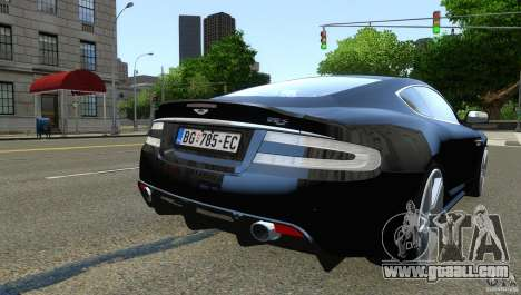 Aston Martin DBS v1.0 for GTA 4 back view