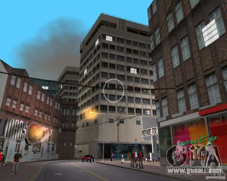 New Downtown: Shops and Buildings for GTA Vice City