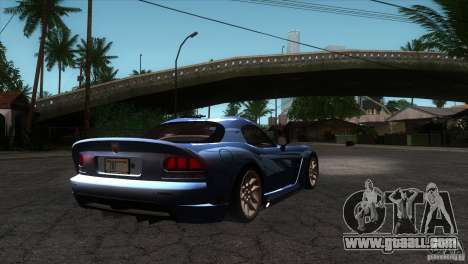 Dodge Viper SRT10 Stock for GTA San Andreas right view