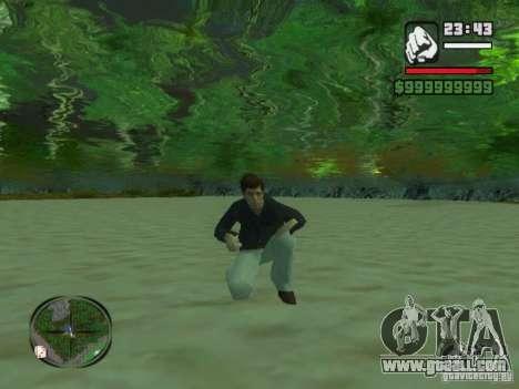 Tony Montana in a shirt for GTA San Andreas third screenshot